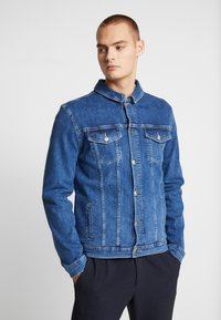 FAKTOR - DAEL JACKET - Spijkerjas - blue denim - 3