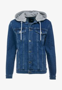 FAKTOR - DAEL JACKET - Spijkerjas - blue denim - 4