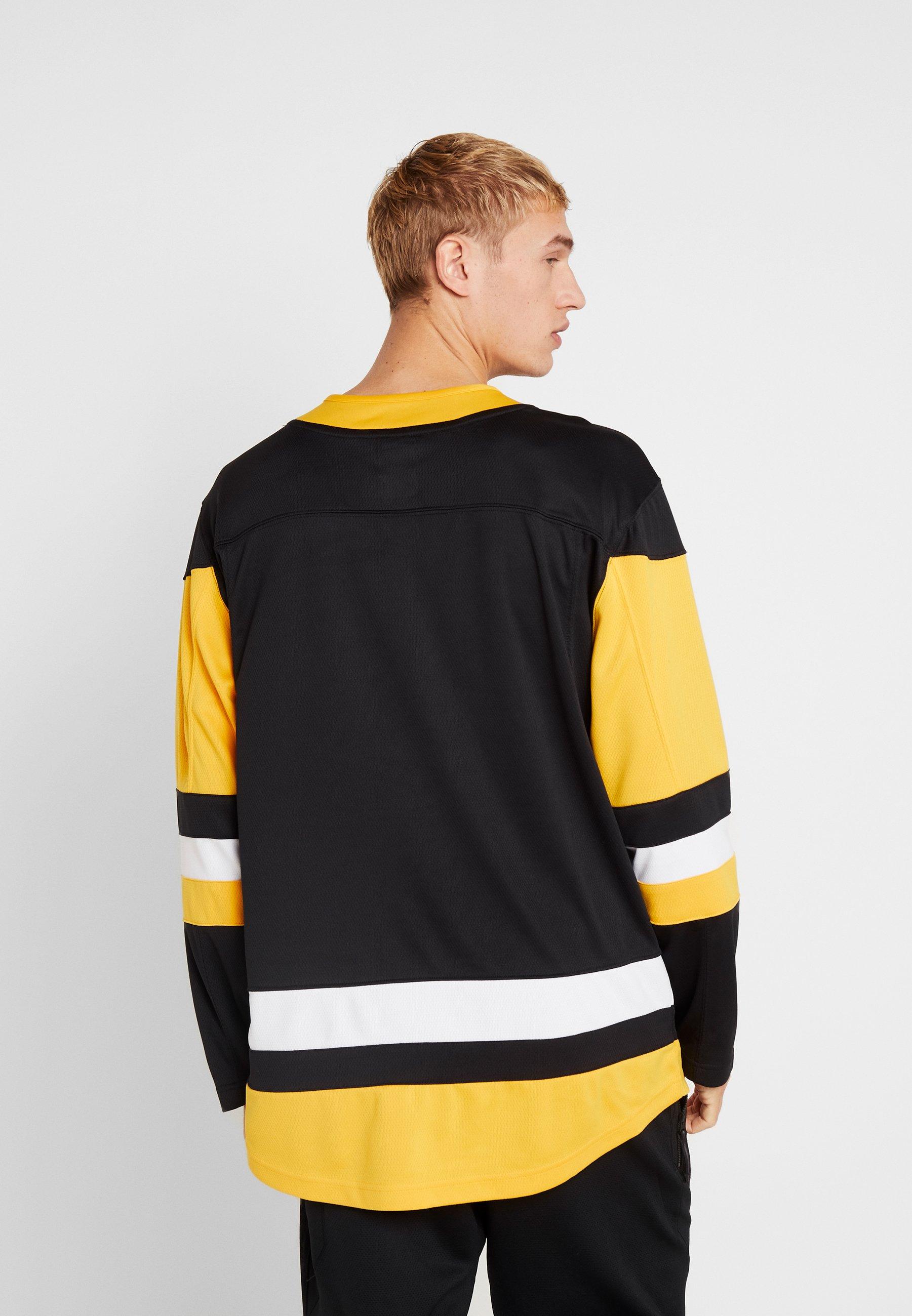 Fanatics NHL PITTSBURGH PENGUINS BRANDED HOME BREAKAWAY - T-shirt à manches longues black