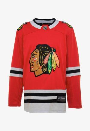 NHL CHICAGO BLACKHAWKS FANATICS BRANDED HOME BREAKAWAY - Pelipaita - red