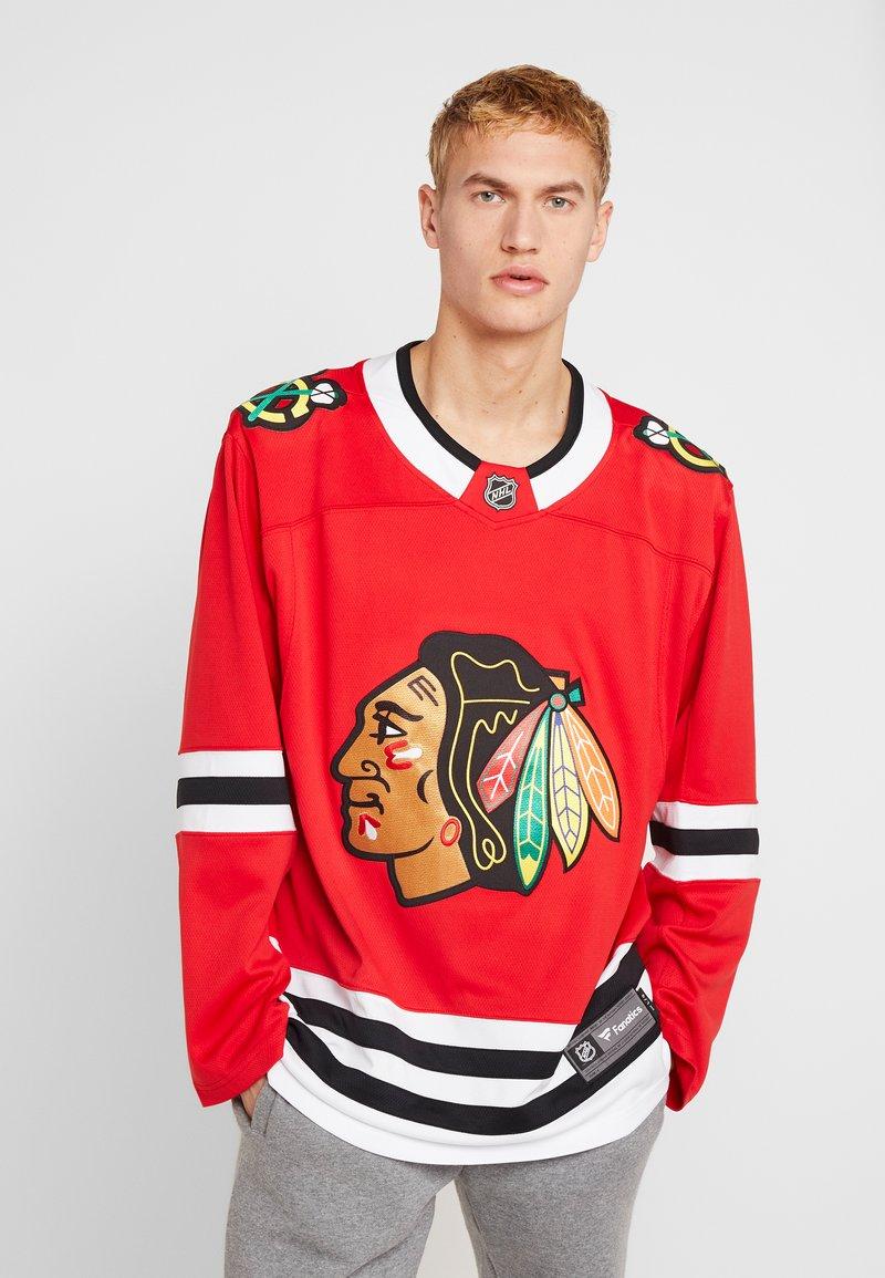 Fanatics - NHL CHICAGO BLACKHAWKS FANATICS BRANDED HOME BREAKAWAY - Article de supporter - red