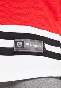 Fanatics - NHL CHICAGO BLACKHAWKS FANATICS BRANDED HOME BREAKAWAY - Article de supporter - red - 6