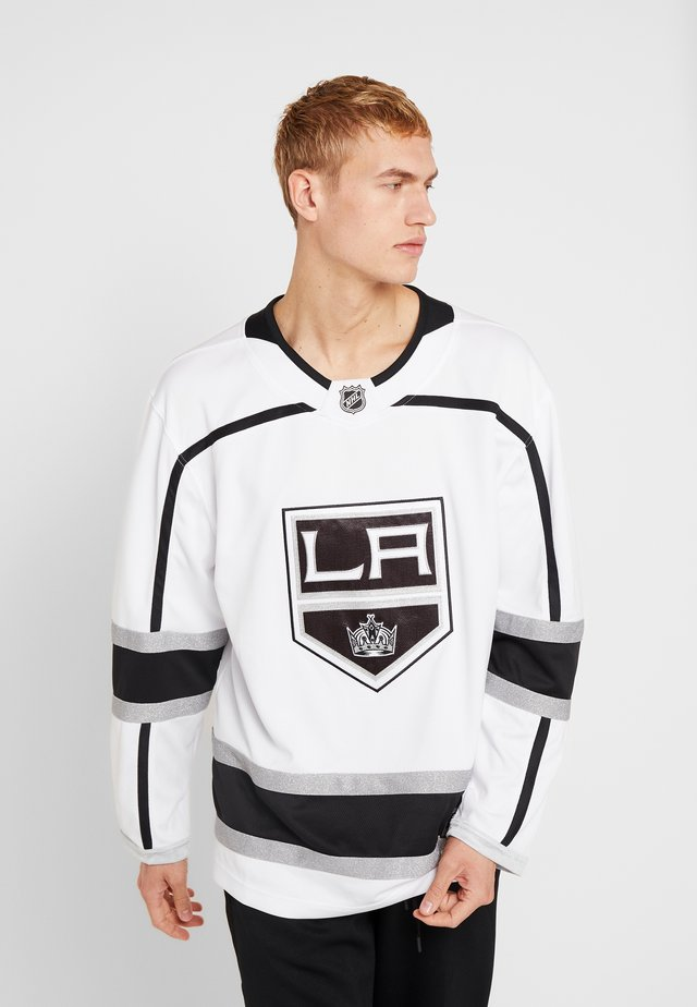 LOS ANGELES KINGS BRANDED AWAY BREAKAWAY - Koszulka sportowa - white