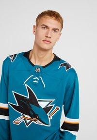 Fanatics - NHL SAN JOSE SHARKS FANATICS BRANDED HOME BREAKAWAY - T-shirt à manches longues - dark green - 3