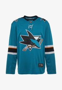 Fanatics - NHL SAN JOSE SHARKS FANATICS BRANDED HOME BREAKAWAY - T-shirt à manches longues - dark green - 5