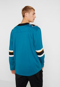 Fanatics - NHL SAN JOSE SHARKS FANATICS BRANDED HOME BREAKAWAY - T-shirt à manches longues - dark green - 2