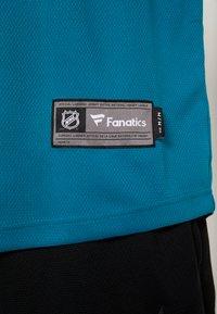 Fanatics - NHL SAN JOSE SHARKS FANATICS BRANDED HOME BREAKAWAY - T-shirt à manches longues - dark green - 6