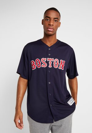 BOSTON SOX MAJESTIC REPLICA COOL BASE ALTERNATE - T-shirt print - dark blue