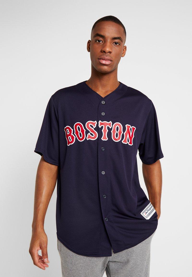 Fanatics - BOSTON SOX MAJESTIC REPLICA COOL BASE ALTERNATE - T-shirt print - dark blue