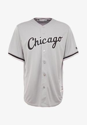 CHICAGO SOX MAJESTIC REPLICA COOL BASE ROAD - T-shirt imprimé - silver