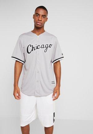 CHICAGO SOX MAJESTIC REPLICA COOL BASE ROAD - T-shirt z nadrukiem - silver