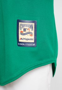 Fanatics - MLB OAKLAND ATHLETICS MAJESTIC COOPERSTOWN COOL BASE ME - Klubbkläder - green - 5