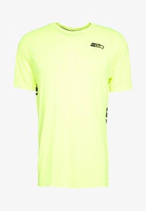 NFL SEATTLE SEAHAWKS SHORT SLEEVE - Club wear - neon yellow