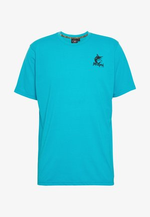NFL MIAMI MARLINS SHORT SLEEVE  - Camiseta estampada - blue