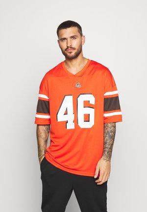 NFL CLEVELAND BROWNS ICONIC SUPPORTERS - Klubbklær - orange