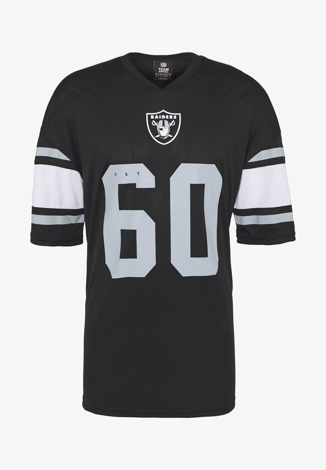 NFL OAKLAND RAIDERS ICONIC FRANCHISE SUPPORTERS JERSEY - Top - black