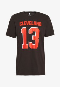 Fanatics - NFL CLEVELAND BROWNS ICONIC NAME & NUMBER GRAPHIC  - Club wear - brown - 3