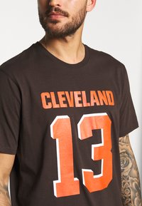 Fanatics - NFL CLEVELAND BROWNS ICONIC NAME & NUMBER GRAPHIC  - Club wear - brown - 4