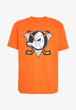 NHL ANAHEIM DUCKS ICONIC SECONDARY COLOUR LOGO GRAPHIC - Club wear - orange