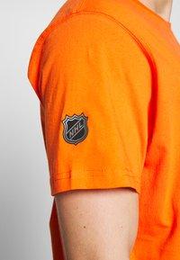 Fanatics - NHL ANAHEIM DUCKS ICONIC SECONDARY COLOUR LOGO GRAPHIC - Klubtrøjer - orange - 5