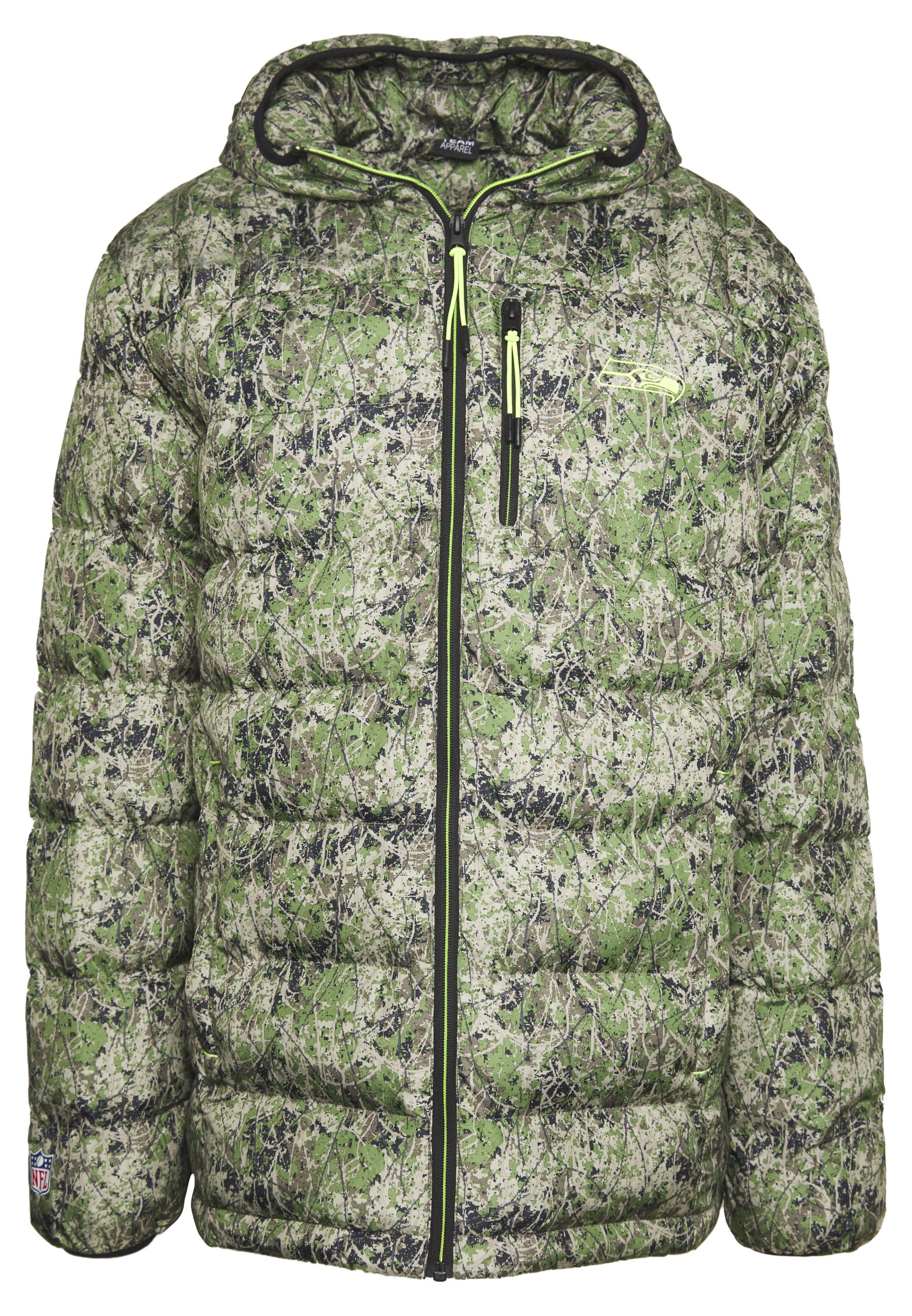 Fanatics Nfl Seattle Seahawks Padded Jacket - Klubbkläder Multicolor