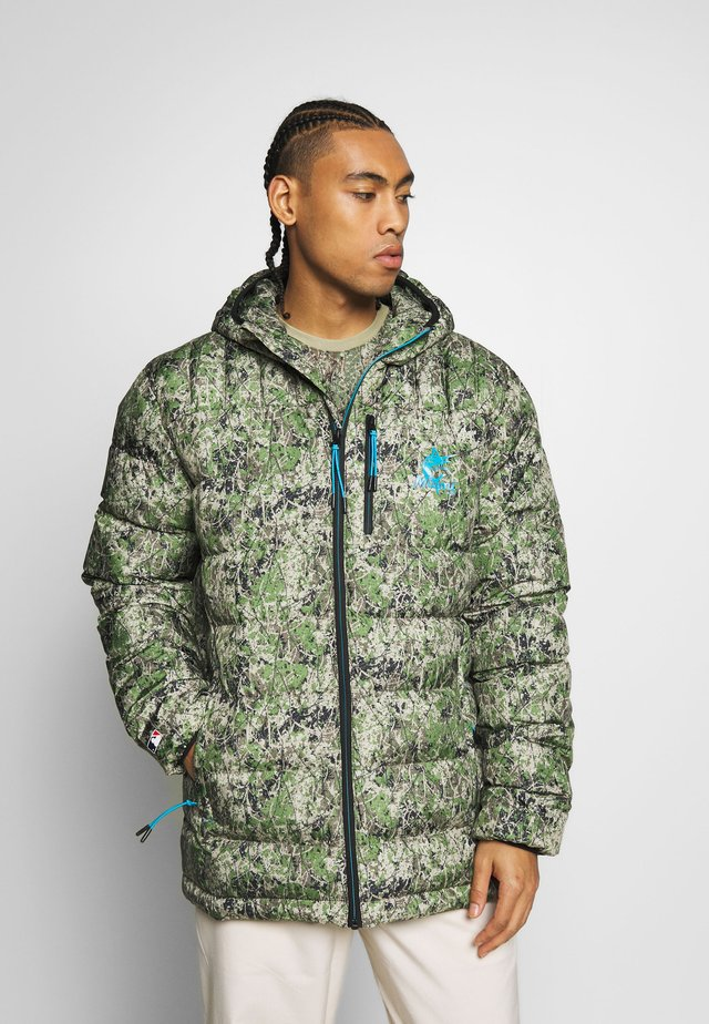 MLB MIAMI MARLINS PADDED JACKET - Vinterjacka - multi-coloured