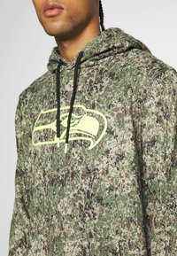Fanatics - NFL SEATTLE SEAHAWKS OH HOODIE - Article de supporter - multi coloured/brown - 5