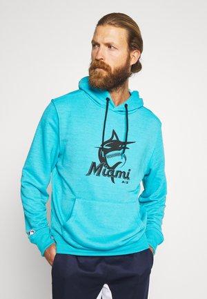 MLB MIAMI MARLINS HOODIE - Klubtrøjer - blue