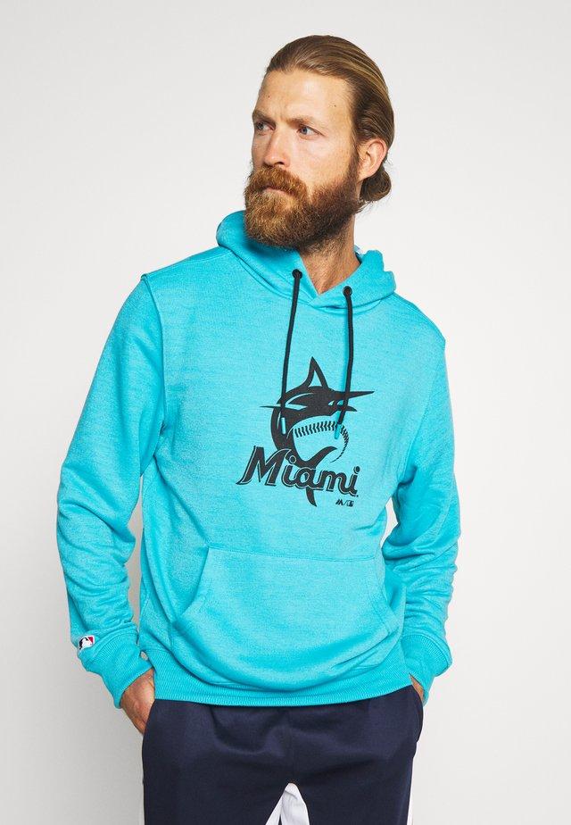MLB MIAMI MARLINS HOODIE - Klubbklær - blue