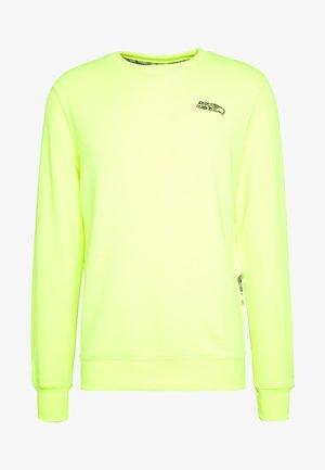 NFL SEATTLE SEAHAWKS CREW - Club wear - neon yellow