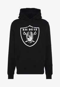 Fanatics - NFL OAKLAND RAIDERS ICONIC PRIMARY LOGO GRAPHIC HOODIE - Hoodie - black - 3