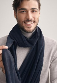 Falconeri - SCHAL KASCHMIR LIGHT - Scarf - blu navy - 2