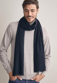 Falconeri - SCHAL KASCHMIR LIGHT - Scarf - blu navy - 1