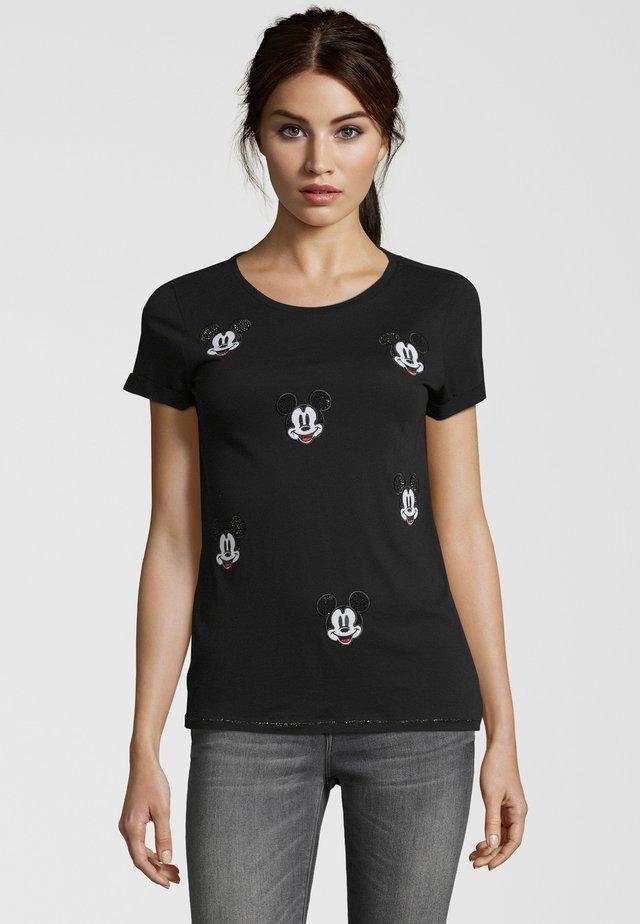 MICKEY - Print T-shirt - nero