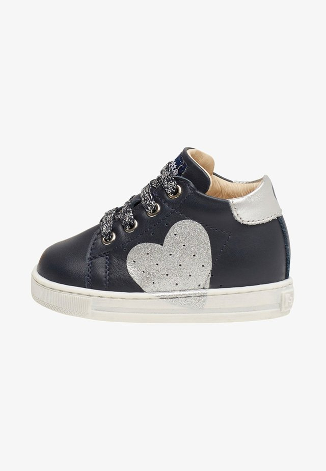 HEART - Baby shoes - blue