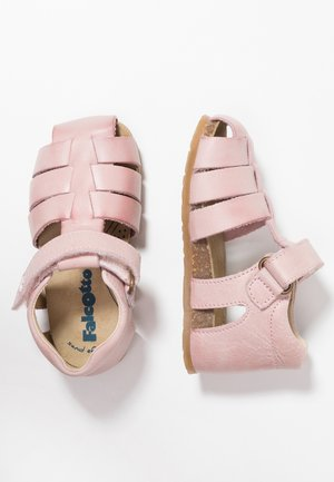 ALBY halboffener - Baby shoes - rosa