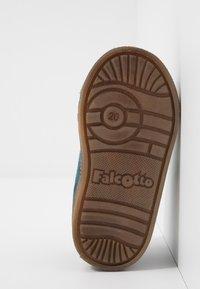 Falcotto - MICHAEL - Obuwie na rzepy - teal - 5
