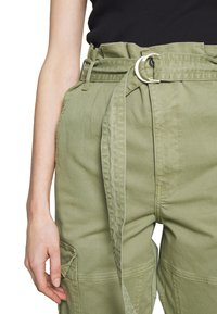 Frame Denim - SAFARI WIDE LEG TROUSER - Trousers - waod - 6