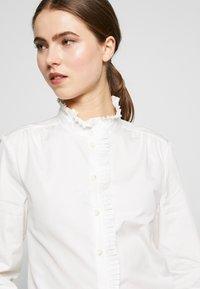 Frame Denim - EASY PLEATED - Bluse - blanc - 4