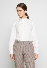 Frame Denim - EASY PLEATED - Bluse - blanc - 0