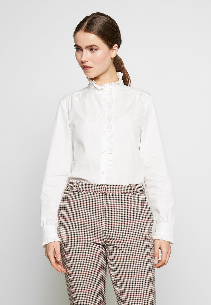 Frame Denim - EASY PLEATED - Bluse - blanc