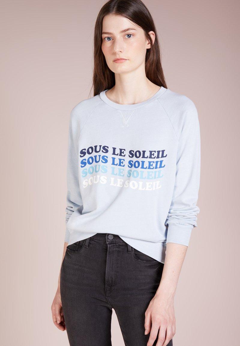 Frame Denim - TRUE RAGLAN  - Sweatshirt - faded shirting blue