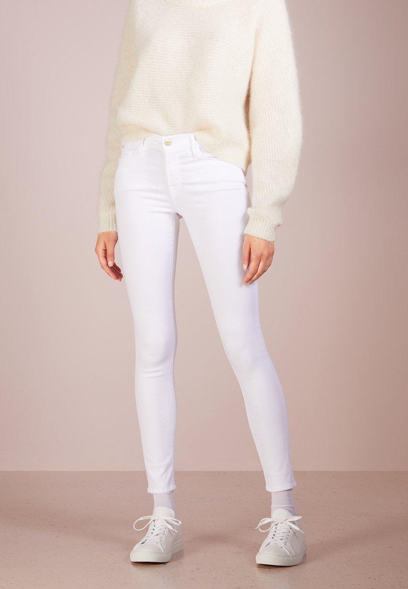 Frame Denim - Jeans Skinny Fit - blanc