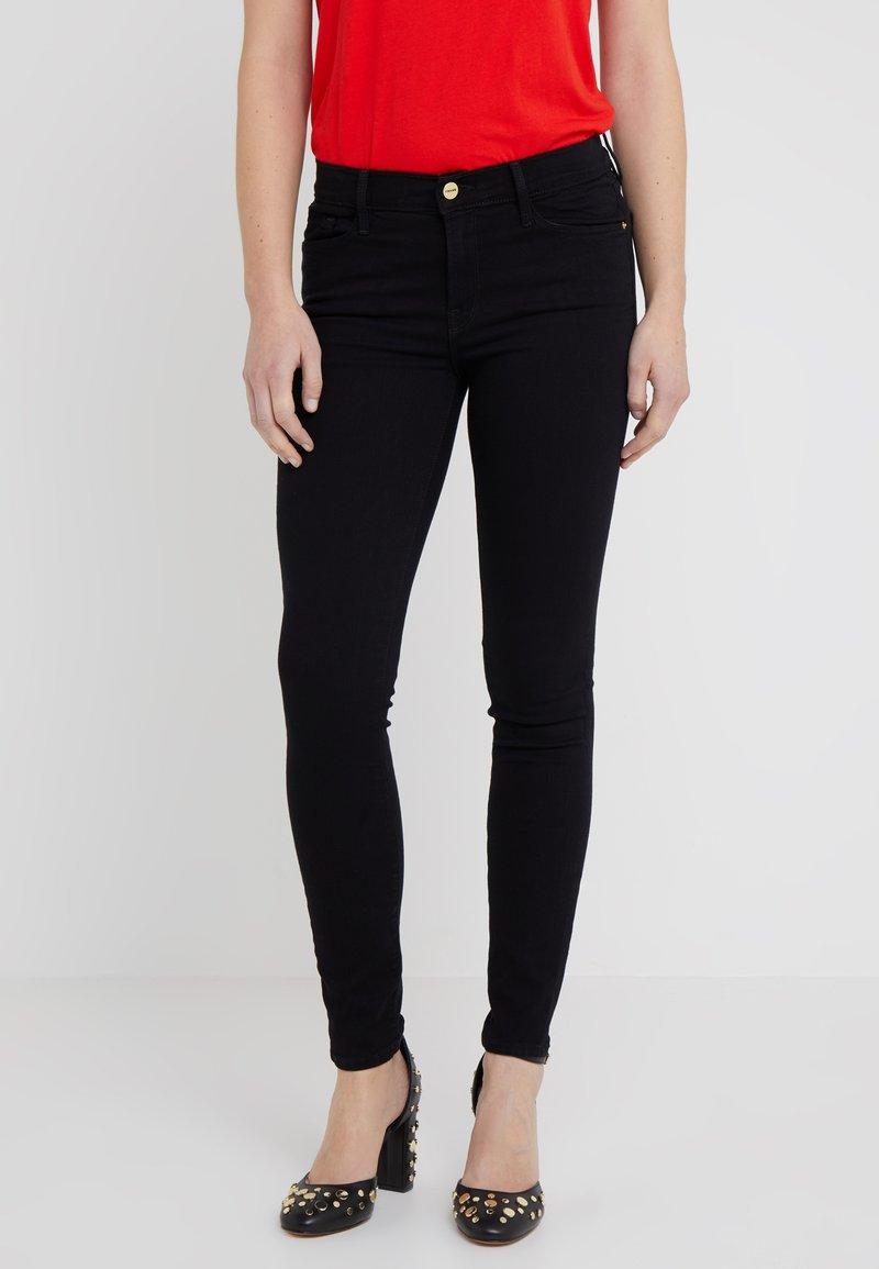 Frame Denim - COLOR JEAN - Jeans Skinny Fit - film noir