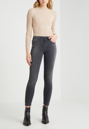 LE HIGH - Jeans Skinny Fit - streep