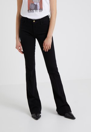 LE HIGH  - Flared Jeans - film noir