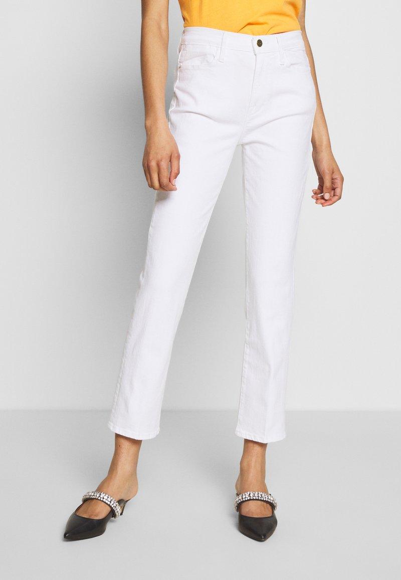 Frame Denim - Straight leg jeans - white