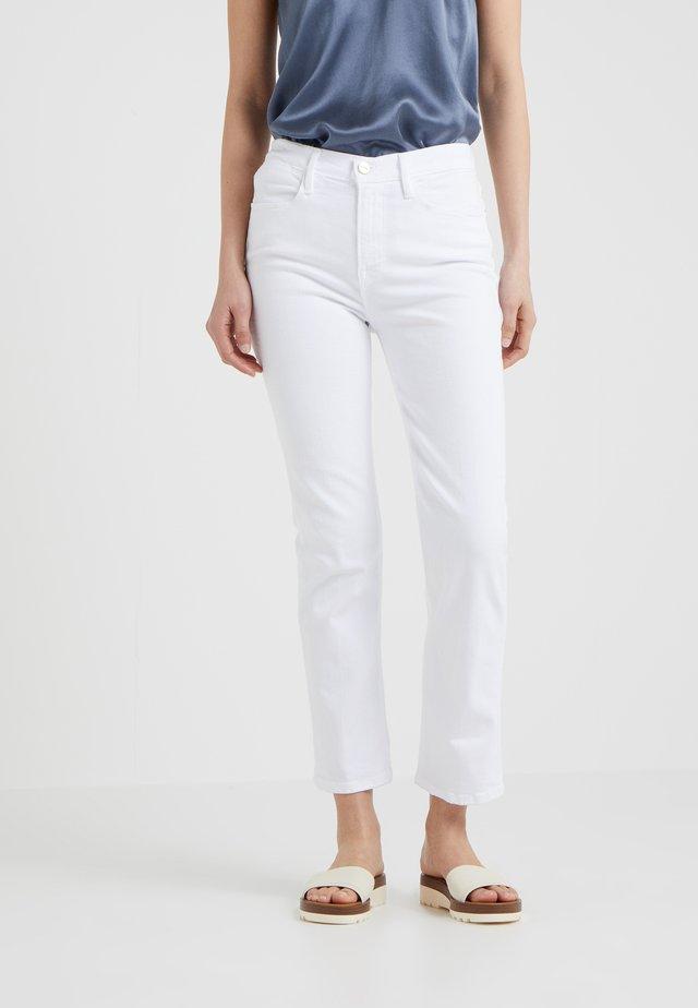 Jeans Straight Leg - blanc