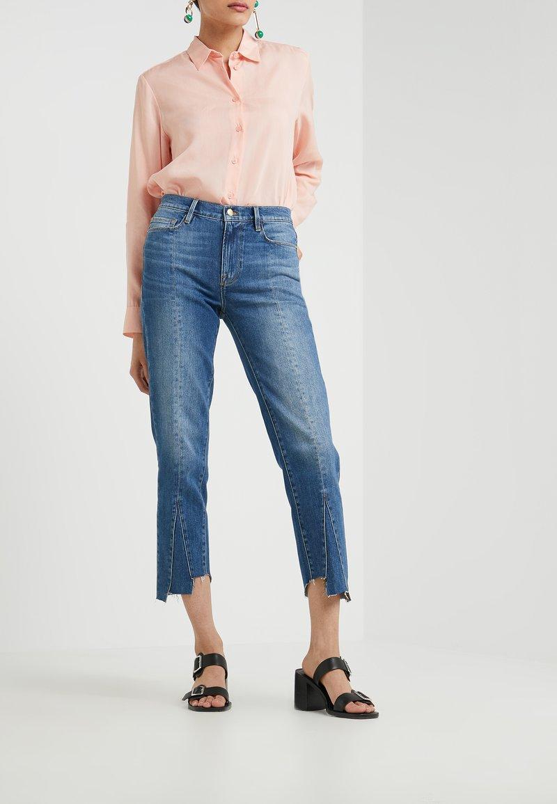Frame Denim - LE NOUVEAU TRIANGLE GUSSET - Straight leg jeans - blue denim