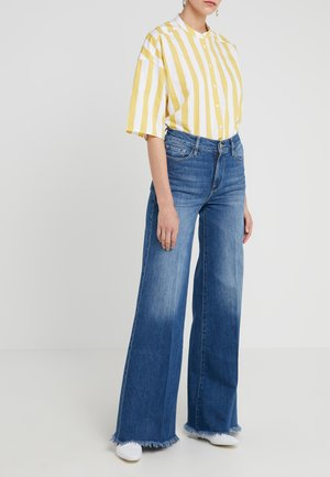 PALAZZO PANT RAW EDGE - Jeans Relaxed Fit - maggie may